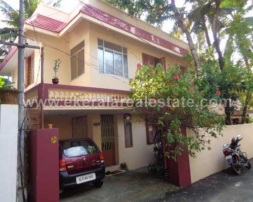 Double Storied House villas sale in enchakkal thiruvananthapuram kerala