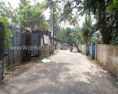 Tar road frontage house sale in vattiyoorkavu trivandrum for Land for sale in kerala
