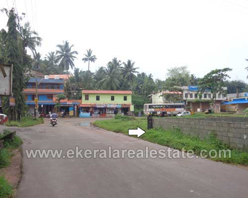 road frontage residential house plot sale in Vellanad trivandrum kerala real estate