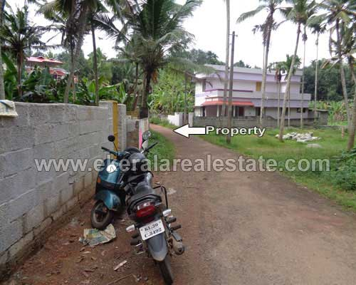 tar road frontage house plots sale in Peyad trivandrum kerala real estate