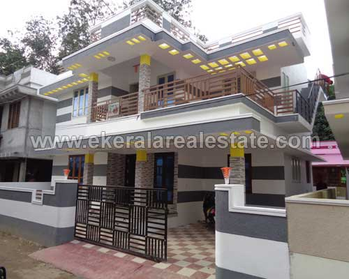 kerala real estate thirumala 1800 sq.ft. newly constructed house villas sale thirumala
