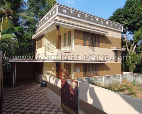 Two Storied 2050 Sq.ft. House Villas for sale in thirumala thiruvananthapuram kerala