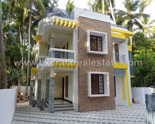 3 bedroom brand new house for sale at Kurisadi Lane thiruvallam trivandrum kerala real estate
