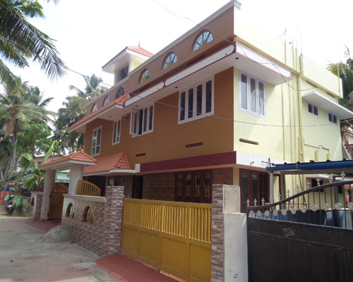 new house villas sale at Manacaud konchiravila trivandrum kerala real estate