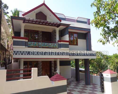 two storied house villas sale in chittazha Trivandrum chittazha mannanthala