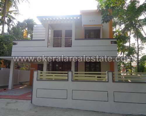 two storied house villas sale in Chanthavila Kazhakuttom Trivandrum Kazhakuttom