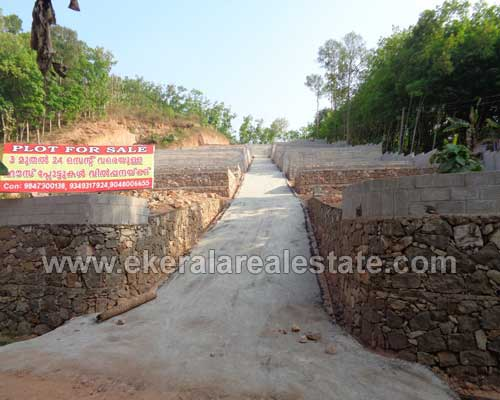 residential house plots 3 cents for sale Mylam trivandrum real estate