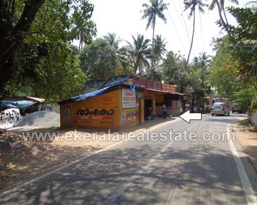 Main road frontage Houses and Shops at Anchuthengu Trivandrum Kerala real estate