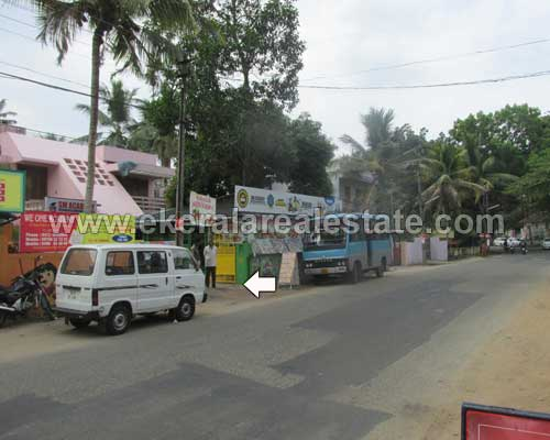 Trivandrum real estate Kerala Elipode near PTP Nagar House with Plot for sale