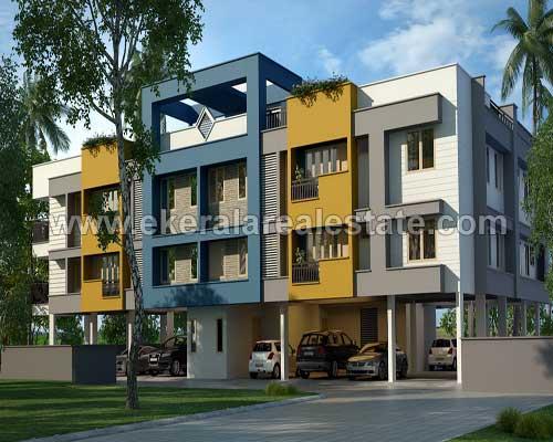 Kerala real estate Thiruvananthapuram Kesavadasapuram Apartment for sale