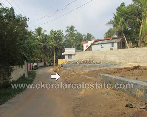Kerala real estate Thiruvananthapuram Thirumala Land Plot for sale