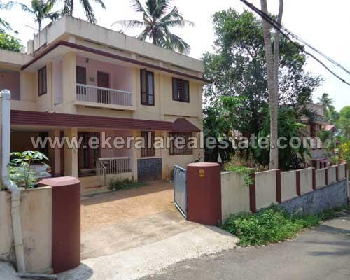 Thiruvananthapuram Real estate Peroorkada Properties land with used house at Peroorkada