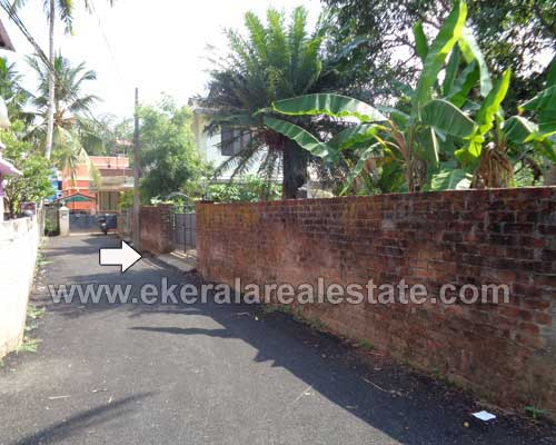 Thiruvananthapuram Properties Tar road frontage land for sale at Poojappura Trivandrum