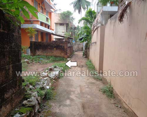 Land with old house at Kannammoola Trivandrum Kerala Real estate Properties
