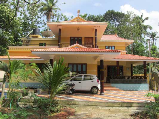 Kerala real estate Properties Kollam Parippally Independent House with land for sale