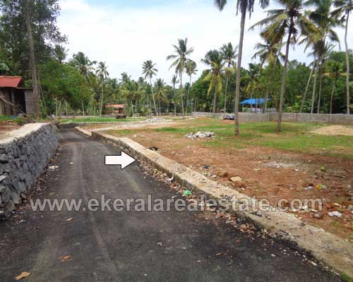 Trivandrum real estate Properties Residential Land at Nilakkamukku Kadakkavoor Kerala