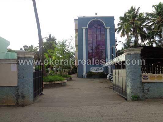 Kerala real estate Properties Luxury flat at Kamaleswaram Manacaud Trivandrum