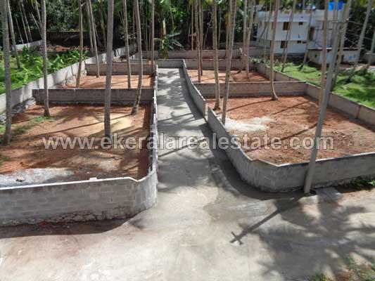 Trivandrum properties Kerala Pangappara Kariavattom Trivandrum Plots for sale