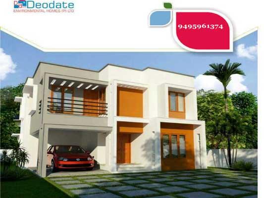 Kollam properties Kerala Sree Nagar Pattathanam Kollam Posh Villas for sale