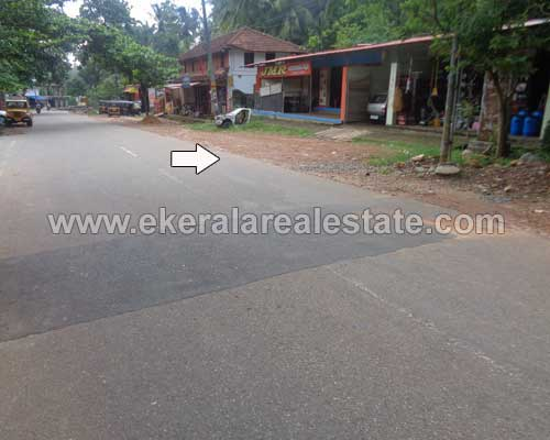Land with Shop and House for Sale at Vithura Trivandrum Kerala Real estate