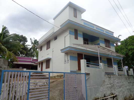6 Bedrooms Residential House for Sale at Santhivila Vellayani Trivandrum Kerala