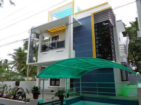 Brand New Residential House for Sale at Manjadi near Peyad Trivandrum Kerala