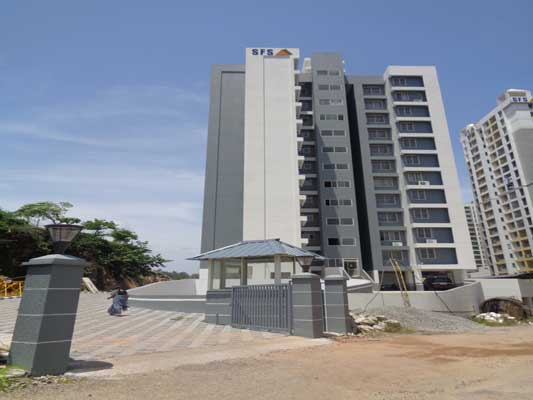 Flat Sale in Kazhakuttom Brand New 2 BHK Flat for Sale near Infosys Technopark Trivandrum Kerala