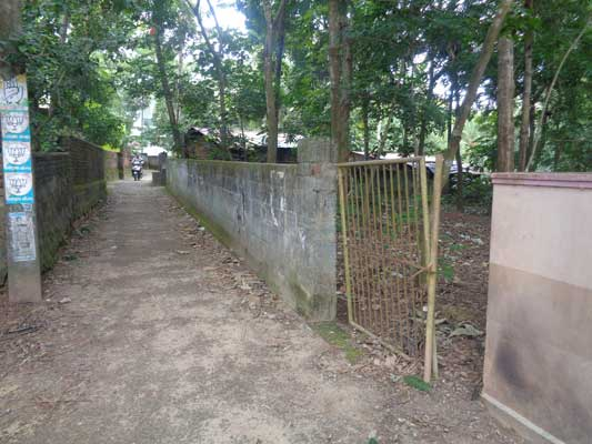 Properties in Trivandrum 34 Cents Residential Land Sale at Naruvamoodu near Pravachambalam Trivandrum Kerala