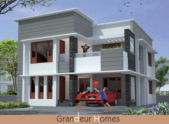 Independent Luxury Villas at Kudappanakunnu Trivandrum Kerala Villas Sale in Trivandrum