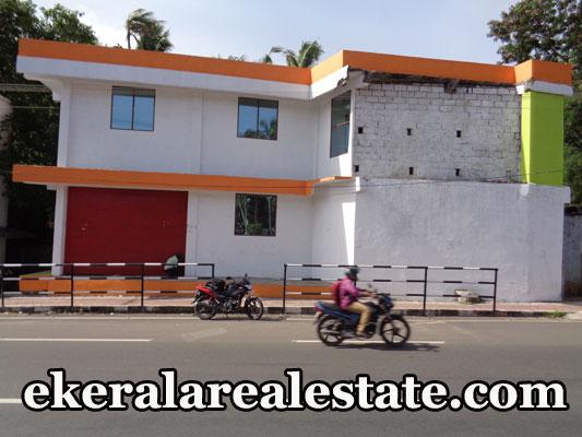 3000 sq.ft 3 floor commercial building for sale at real estate kerala trivandrum Karakkamandapam Nemom
