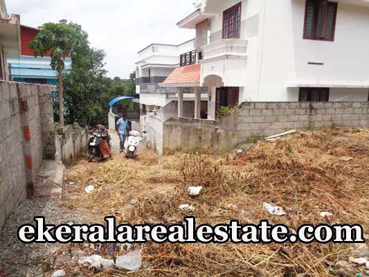 Road frontage land plot for sale at Mythri Nagar Valiyavila Thirumala Trivandrum real estate kerala trivnadrum