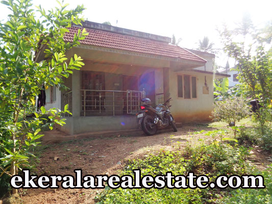 Land with Single storied House at Anthiyoorkonam Malayinkeezhu Trivandrum Properties Kerala