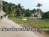 5.5 lakhs per Cent land for sale at Thrippadapuram Technopark Kazhakuttom Technopark real estate properties sale