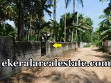 house plot for sale at Kurishadi Junction Nalanchira Trivandrum Nalanchira real estate properties sale