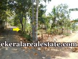 road frontage house plot for sale at Mangattukadavu Perukavu Thirumala Trivandrum Thirumala real estate properties sale