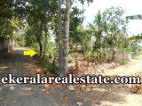 road frontage house plot for sale at Mangattukadavu Perukavu Thirumala Trivandrum Thirumala real estate properties sale
