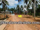plot for sale at Kundamankadavu Bridge Thirumala Trivandrum real estate properties sale