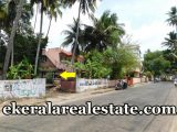 road frontage house plot for sale at Pottakuzhi Thekkumoodu Road Pattom Trivandrum kerala
