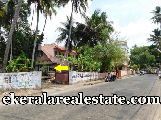 road frontage house plot for sale at Pottakuzhi Thekkumoodu Road Pattom Trivandrum kerala