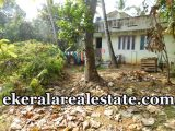 main road frontage house plot for sale at PTP Nagar Trivandrum