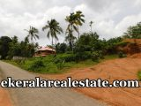 Tar road frontage land sale in Sreekaryam